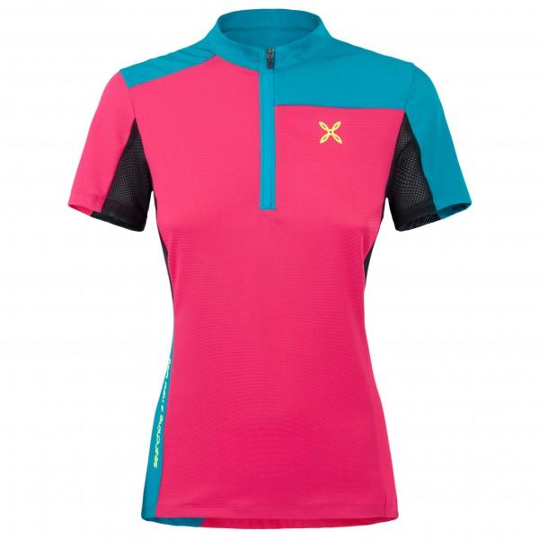Montura - Women's Selce Zip T-Shirt - Pyöräilypusero