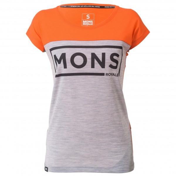Mons Royale - Women's Phoenix Cap Tee Box Logo