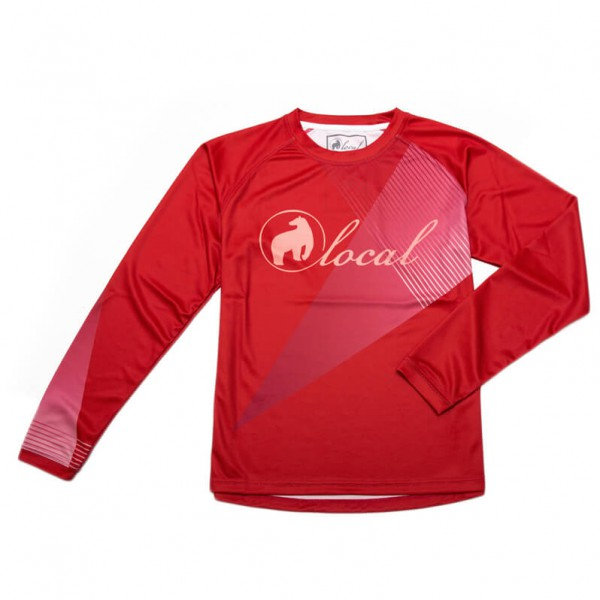 Local - L/S Jersey Women Sparkle - Maglietta da ciclismo