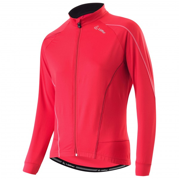 Löffler - Women's Bike Langarmtrikot Uni Full Zip - Sykkeldress