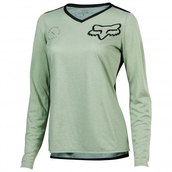 FOX Racing - Womens Indicator L/S Asym Jersey - Cykeltrikå