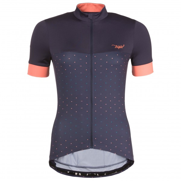 Triple2 - Women's Velozip Performance Jersey - Cykeltrikå