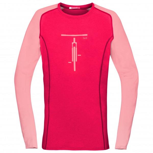 Norrøna Fjørå Equaliser Lightweight Long Sleeve - Cykeljersey Dame   Jerseys