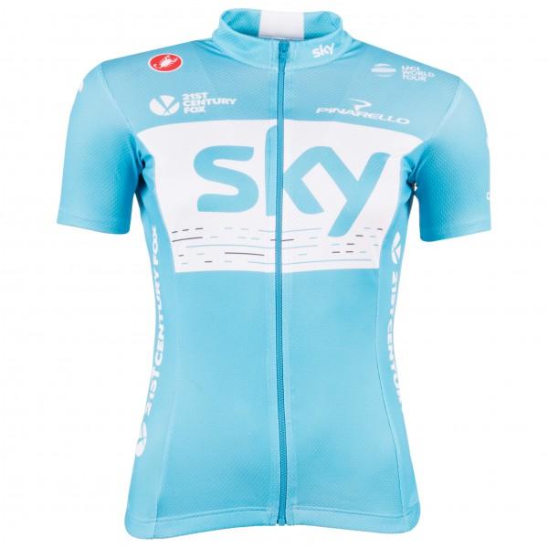 Castelli - Women's Sky Fan 18 Jersey - Pyöräilypusero