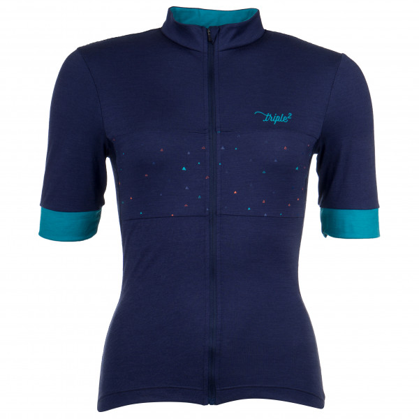 Triple2 - Velozip Merino Jersey Women - Pyöräilypusero