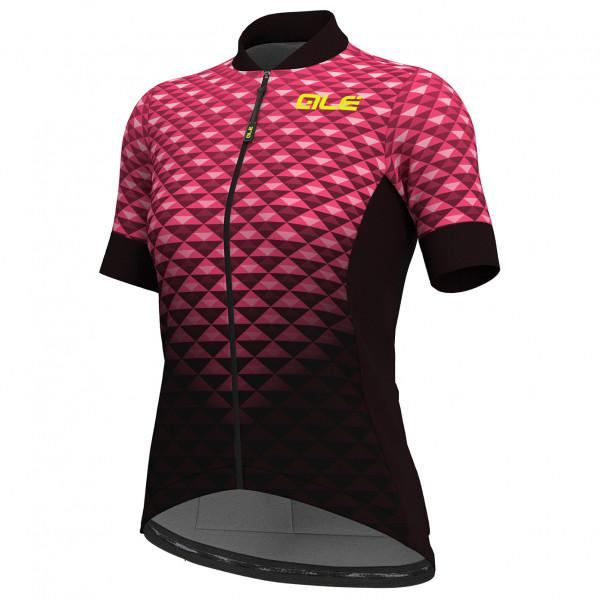 Alé - Women's S/S Hexa Jersey Solid - Cykeltrikå
