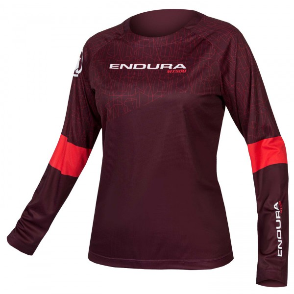 Endura - Women's Mt500 L/S Print T II - Cycling jersey
