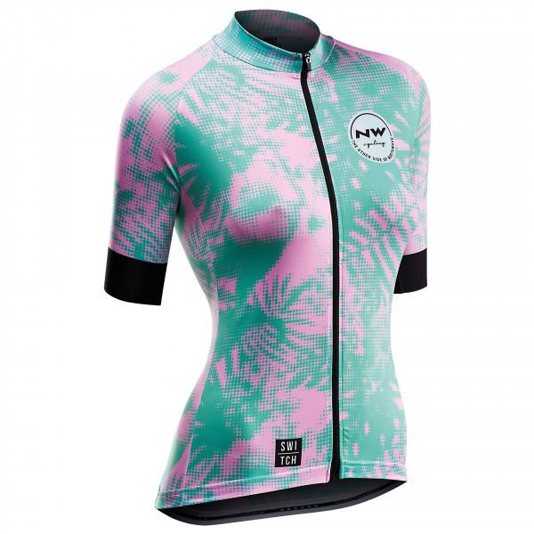 Northwave - Women's Leaves Jersey S/S Switch Line - Fietsshirt