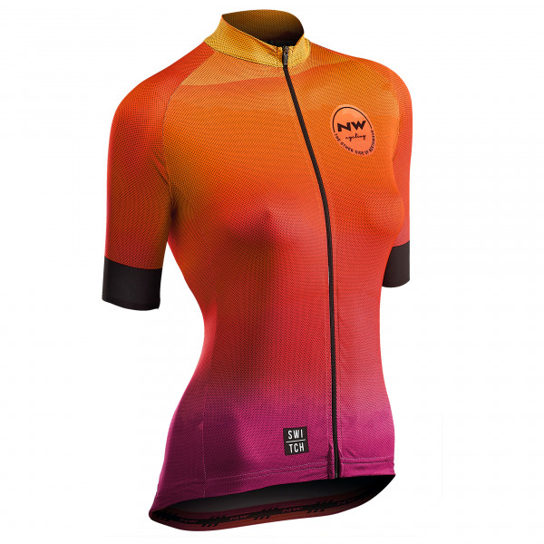 Northwave - Women's Watermelon Jersey S/S Switch Line - Cykeltrikå