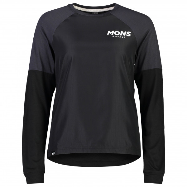 Mons Royale - Women's Tarn Freeride L/S Wind Jersey - Radtrikot