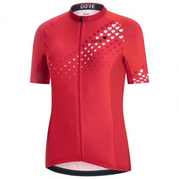 GORE Wear - Women's C3 Heart Jersey - Cykeltrikå
