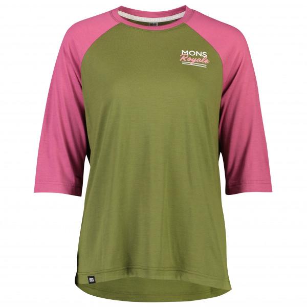 Mons Royale - Women's Tarn Freeride Raglan 3/4 - Cycling jersey