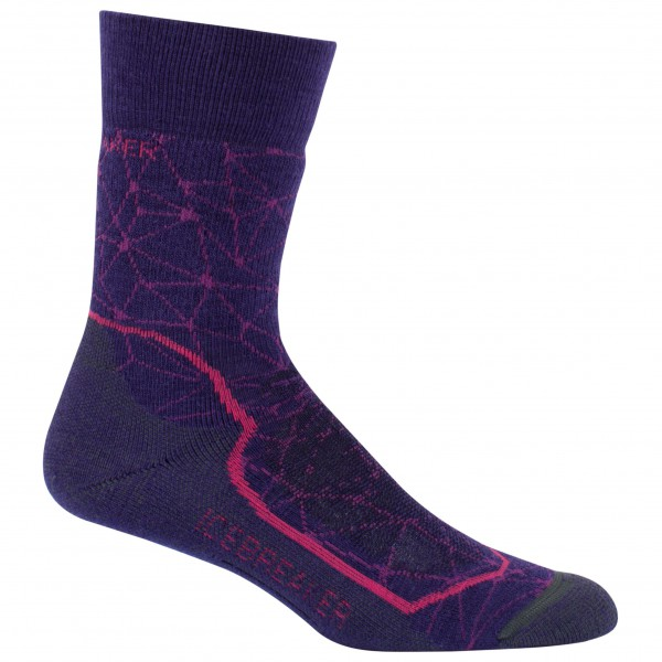 Icebreaker - Women's Hike+ Mid Crew - Chaussettes