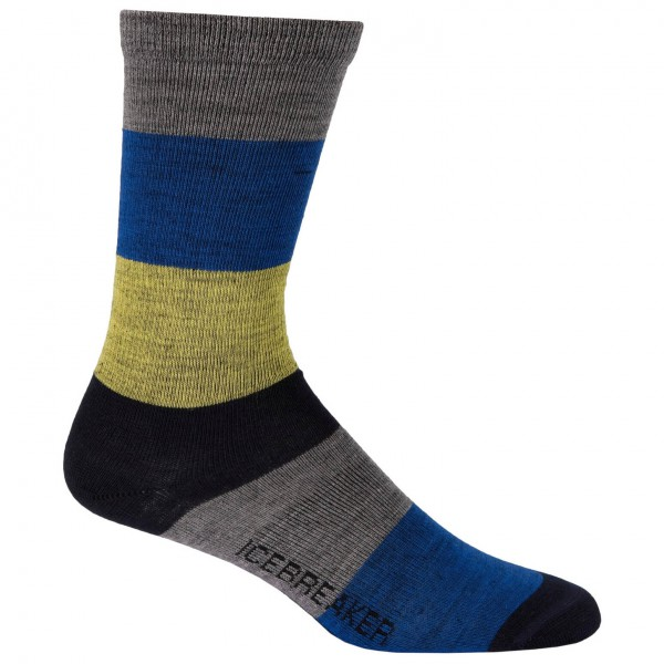 Icebreaker - City Ultralite Stripey Crew - Socken