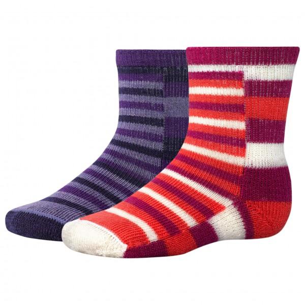 Smartwool - Kids Tots Split Stripe - 2-pack sockor