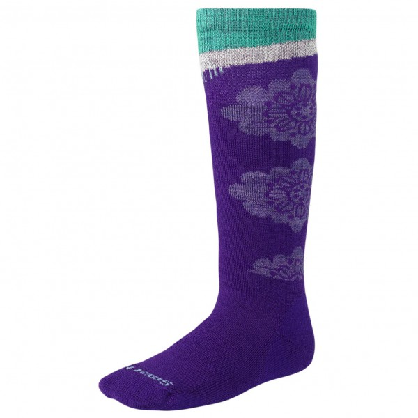 Smartwool - Kids Wintersport Floral - Chaussettes