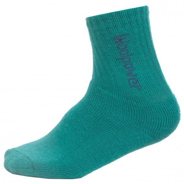 Woolpower - Kids Socks 400 Logo - Sokker