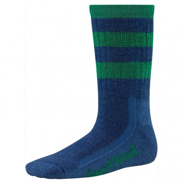 Smartwool - Kid's Striped Hike Medium Crew - Socks