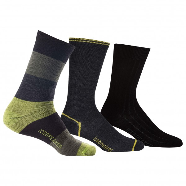 Icebreaker - Lifestyle MultiPack Light Socks Holiday 3PR