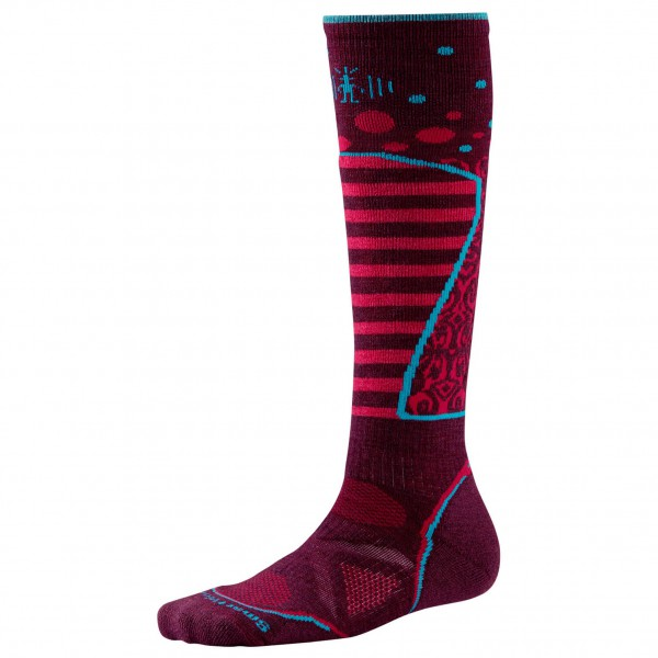 Smartwool - Women's PHD Ski Medium Pattern - Skisokken