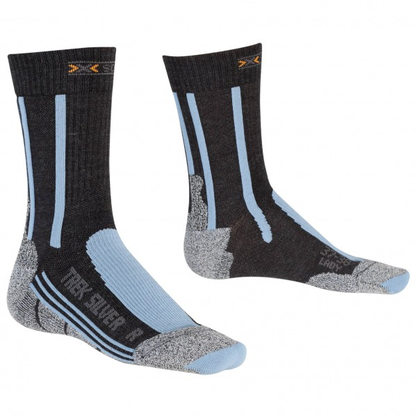 X-Socks - Women's Trekking Silver - Vandringsstrumpor