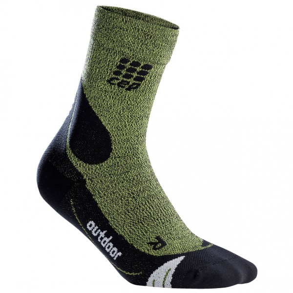 CEP - Outdoor Merino Mid-Cut Socks - Kompressionssocken
