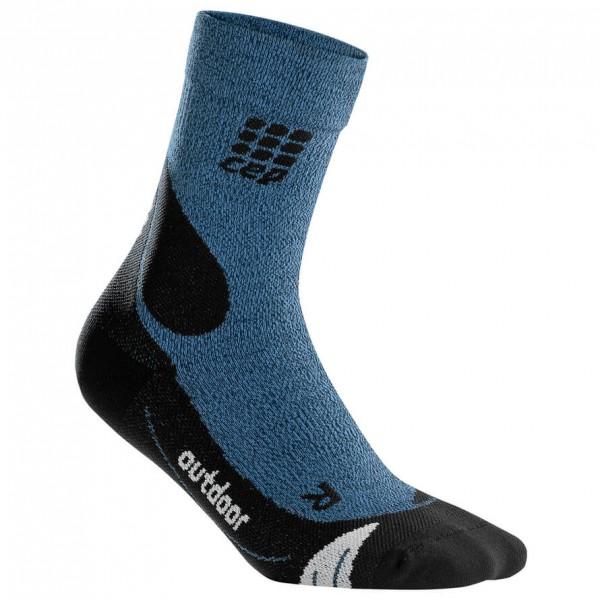 CEP - Outdoor Merino Mid-Cut Socks - Kompressiosukat