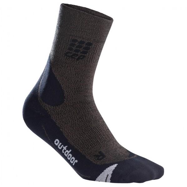 CEP - Outdoor Merino Mid-Cut Socks - Kompressionssokker