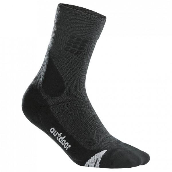 CEP - Women's Outdoor Merino Mid-Cut Socks - Kompressiosukat
