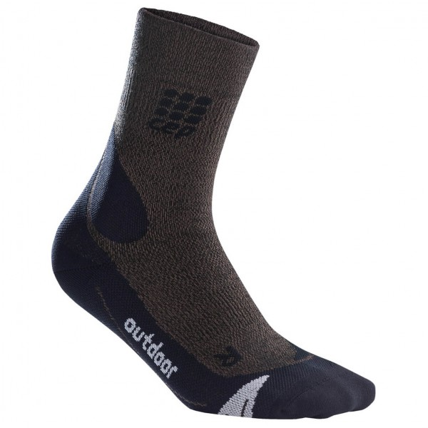 CEP - Women's Outdoor Merino Mid-Cut Socks - Compression socks