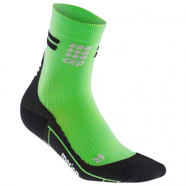 CEP - Run Merino Short Cut Socks - Compressiesokken