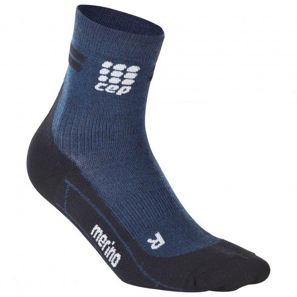 CEP - Women's Run Merino Short Cut Socks - Kompresjonsstrømper