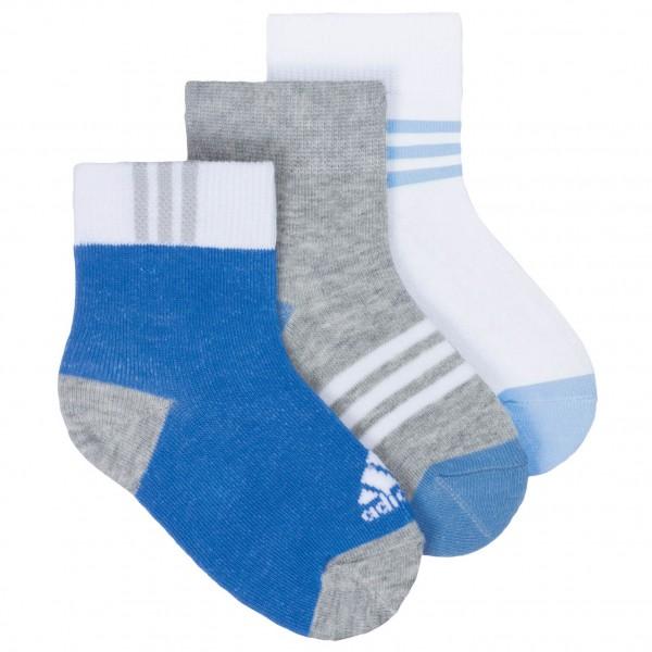 Adidas - 3S Kids Socks 3PP - Multifunctionele sokken