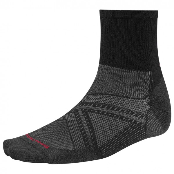 Smartwool - PhD Run Ultra Light Mid Crew - Loopsokken