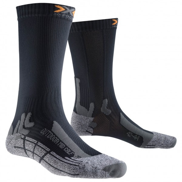 X-Socks - Outdoor Mid Calf - Vandringsstrumpor