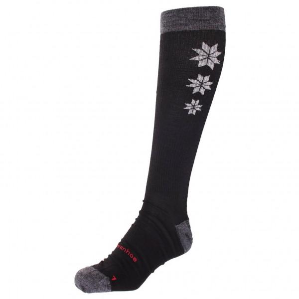 Ivanhoe of Sweden - Wool Sock Compression Snowflake - Compression socks
