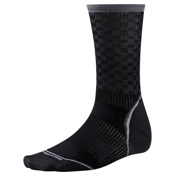 Smartwool - PhD Cycle Ultra Light Pattern Crew - Radsocken