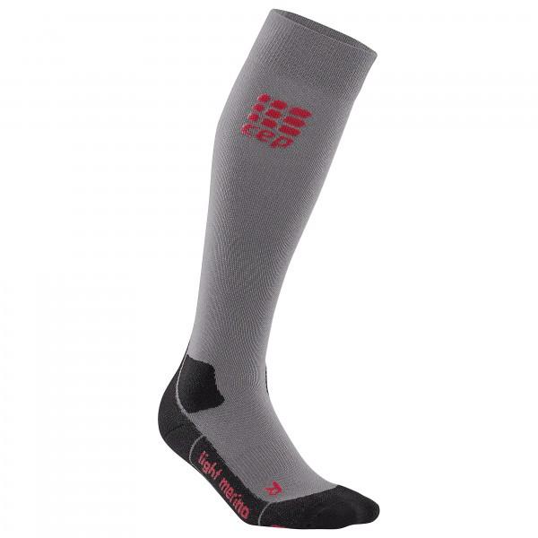 CEP - Women's CEP Pro+ Outdoor Light Merino Socks - Kompresjonsstrømper
