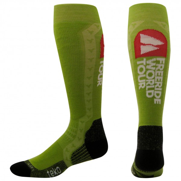 Teko - MTB Freeride Knee Length (2 Pair Pack) - Radsocken