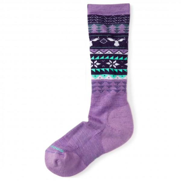 Smartwool - Girl's Wintersport Fairisle Moose - Ski socks