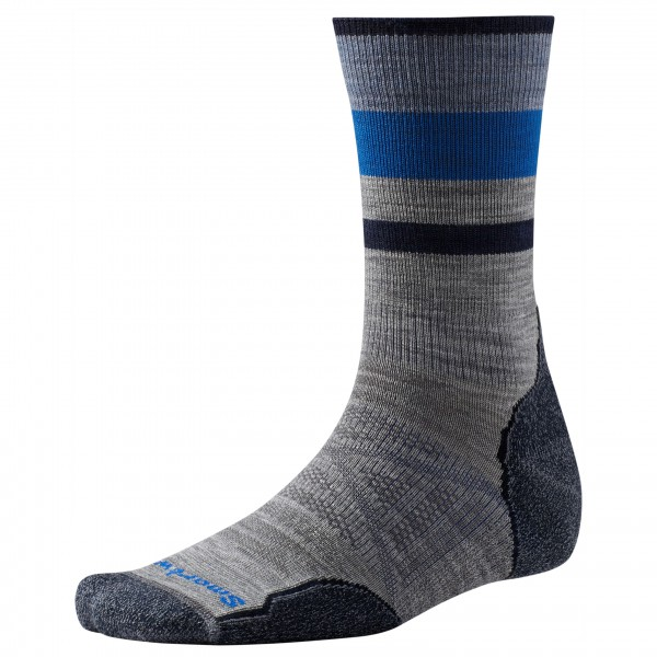 Smartwool - PhD Outdoor Light Pattern Crew - Trekkingsocken