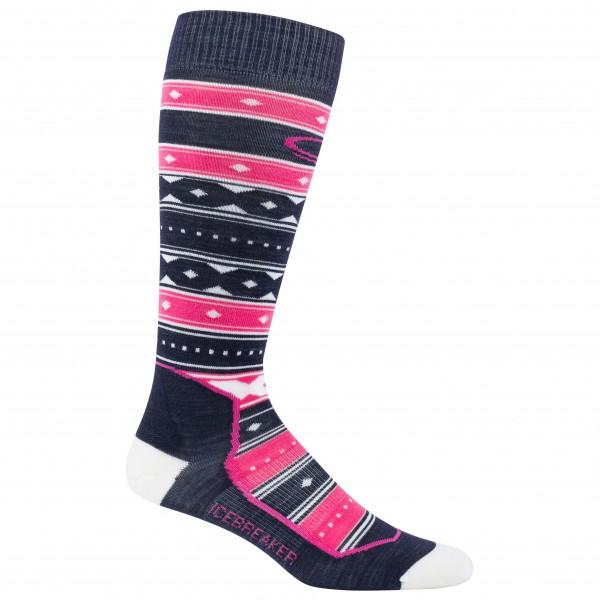 Icebreaker - Women's Ski+ Over The Calf Ultralight Cushion - Ski socks