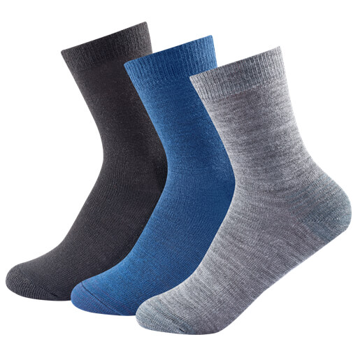 Devold - Daily Light Kid Sock 3-Pack - Monitoimisukat