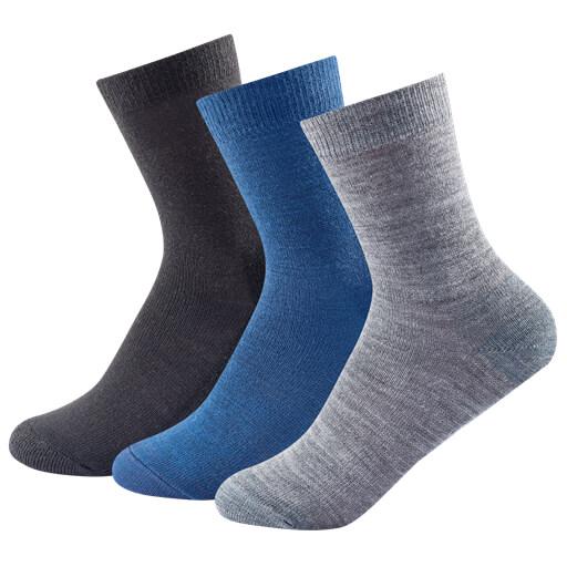Devold - Daily Light Kid Sock 3-Pack - Merinosocken
