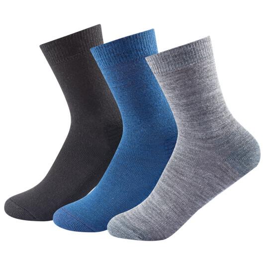 Devold - Daily Medium Kid Sock 3-Pack - Multifunctionele sok