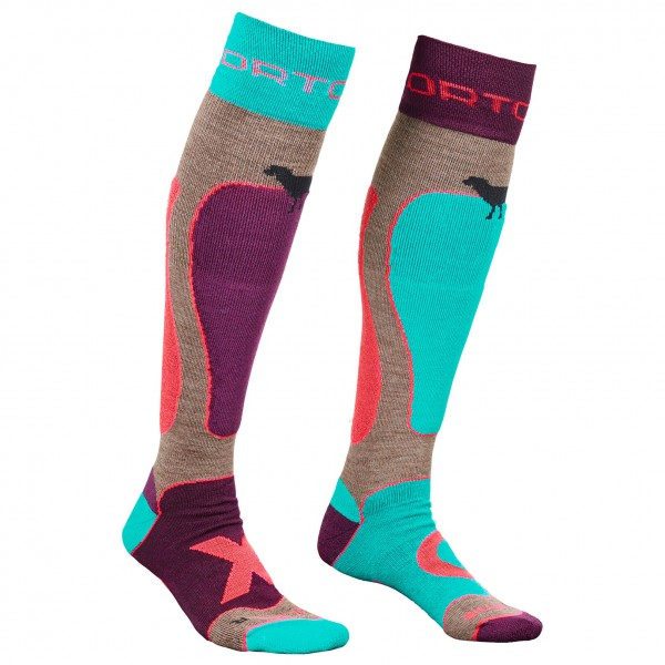 Ortovox - Women's Ski Rock'n'Wool Socks - Skisokken