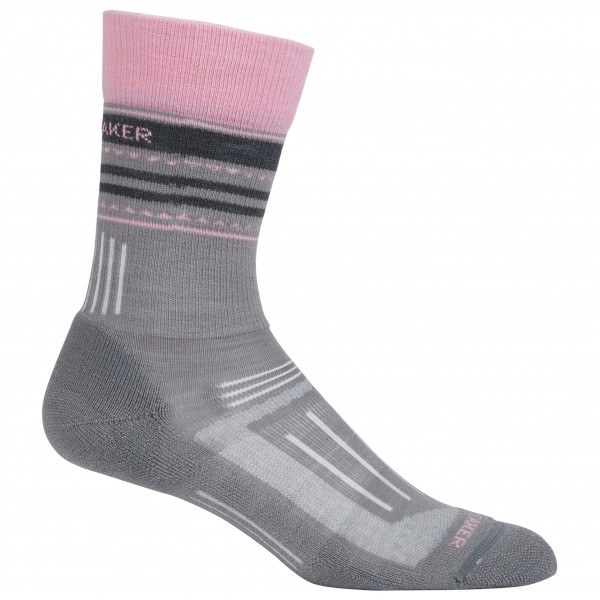 Icebreaker - Women's Hike Light Crew - Trekkingsocken