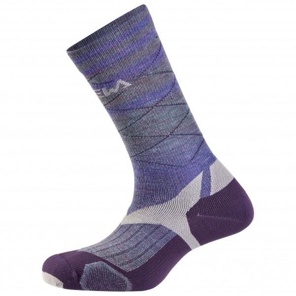 Salewa Socks - Trek Balance VP Socks Salewa - Trekkingsocken Fade Plum / Grey defda1