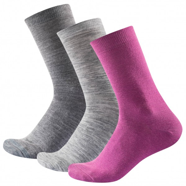 Devold - Daily Light Woman Sock 3-Pack - Calcetines multifuncionales