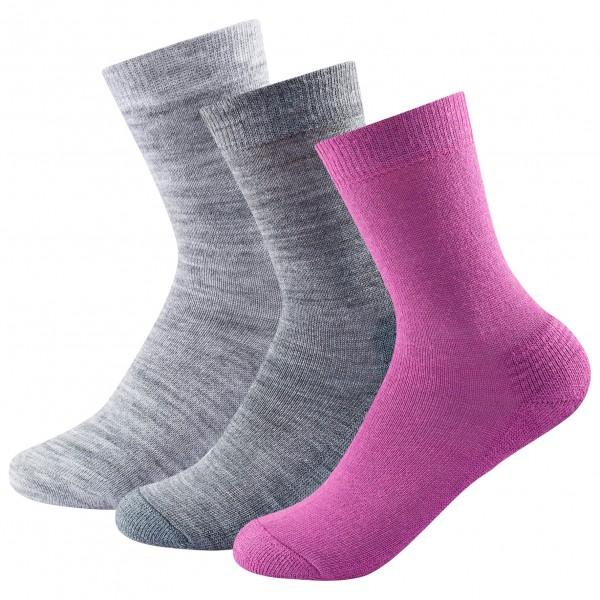 Devold - Daily Medium Woman Sock 3-Pack - Multifunksjonssokker
